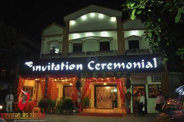 invitation ceremonial banquets   marriage venues for